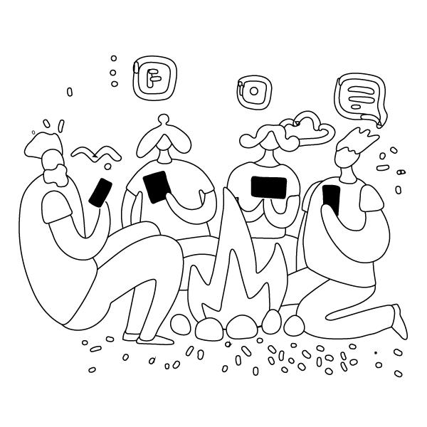 mensen-gebruiken-social-media