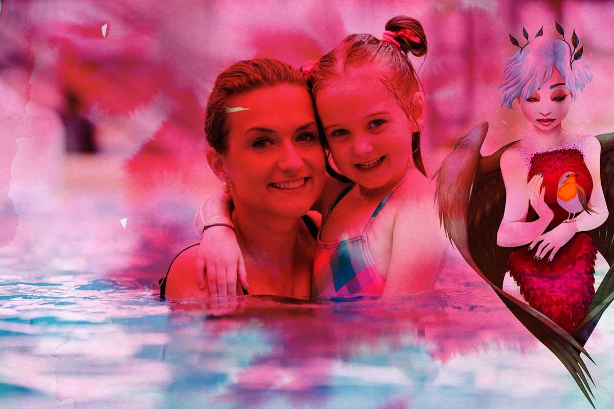 moeder en dochter love