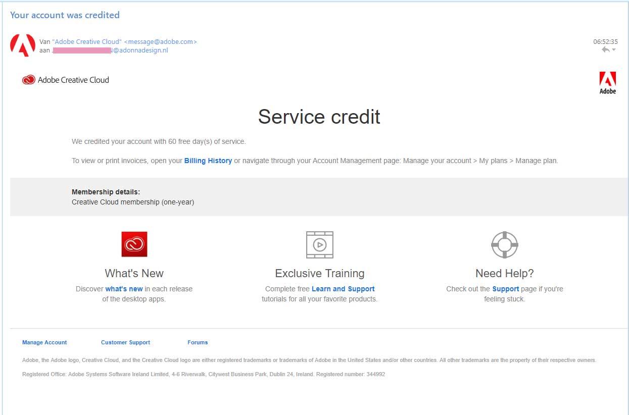 Adobe-CC 2 maanden gratis